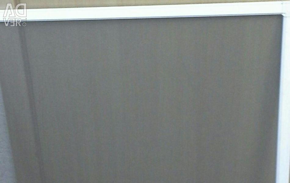 Mesh on the PVC window