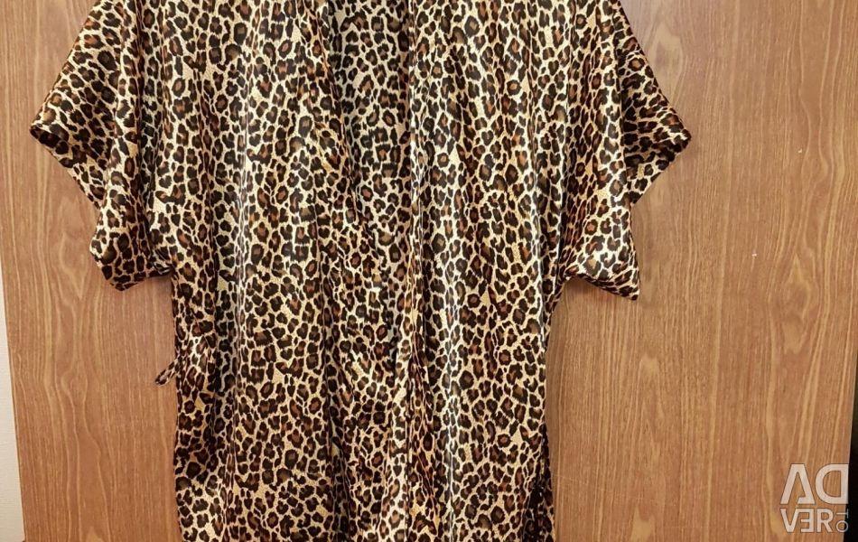 Леопардовый халатик