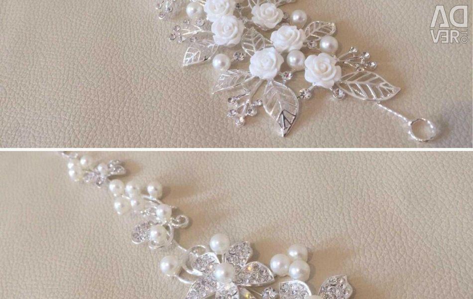 ? Wedding hair ornament! ?