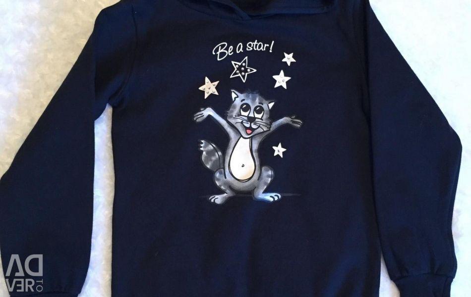 Bluza noua. Creștere 128-134