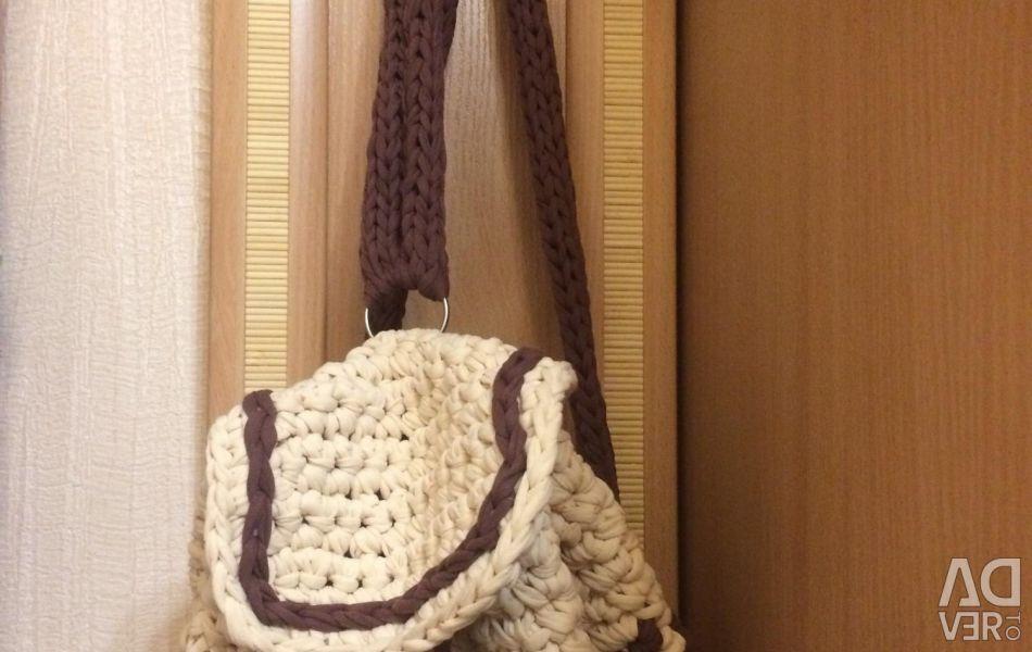 Sırt çantası 🎒 Örme