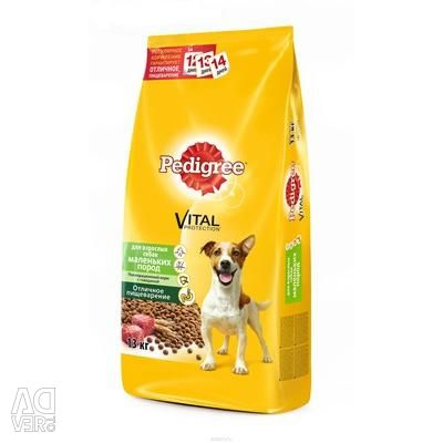 PEDIGREE dry food for adult dogs