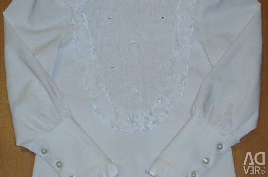 Okul için bluz