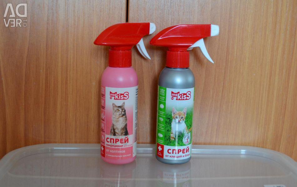 Spray from fleas / ticks and from koltunov