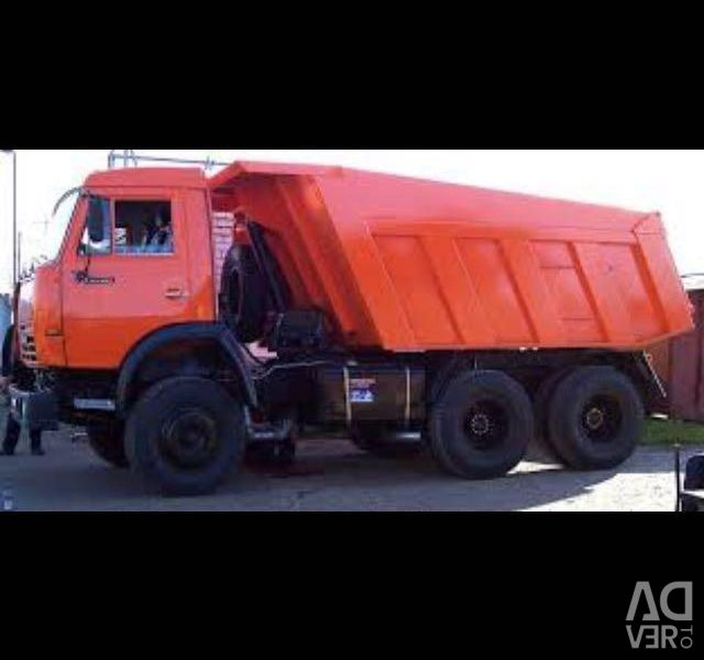 Snow removal by KamAZ