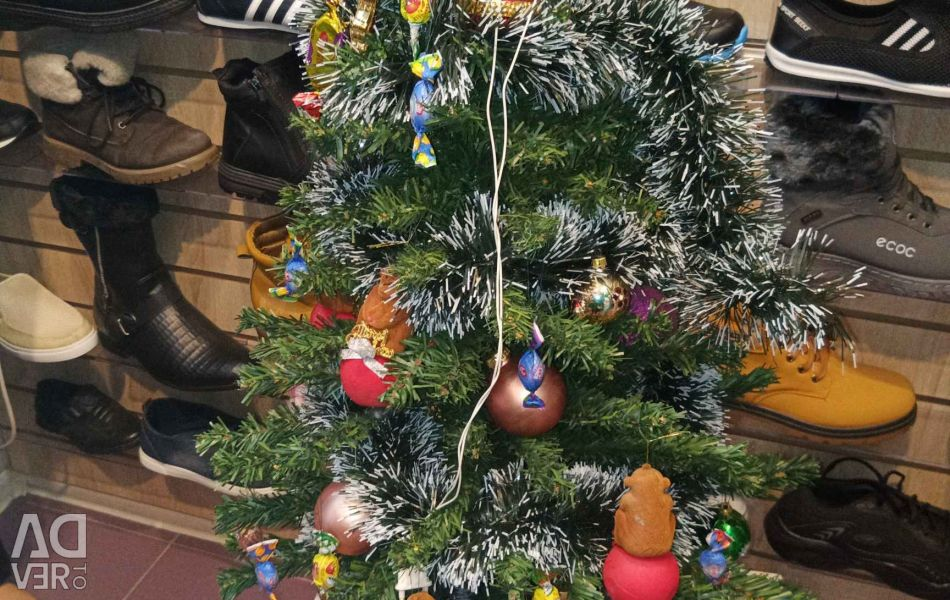 Artificial Christmas tree 90 cm sold without toys