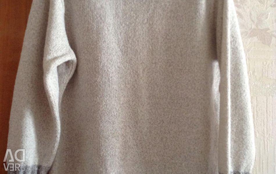 Sweater new wool 48-50 / XL