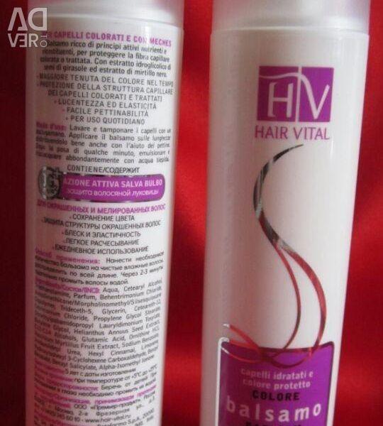 Balsam de păr din Italia