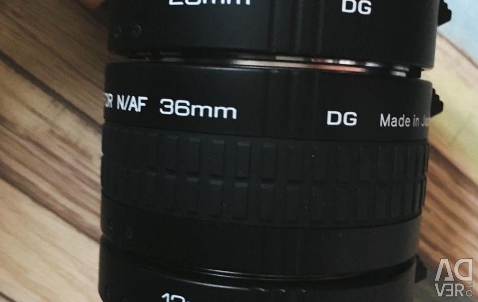 Transitional macro rings for Nikon