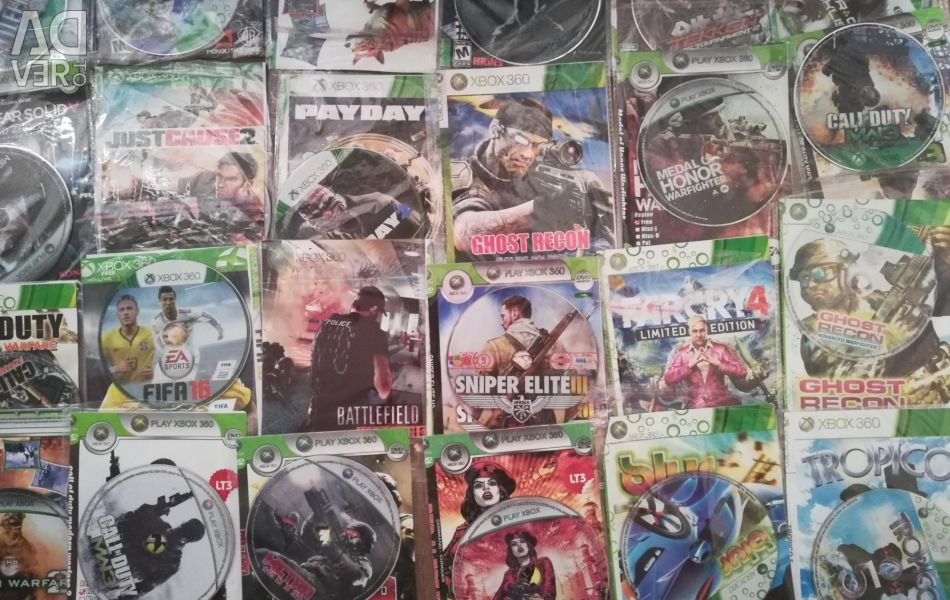 Disks on Xbox 360 L.T +3.0