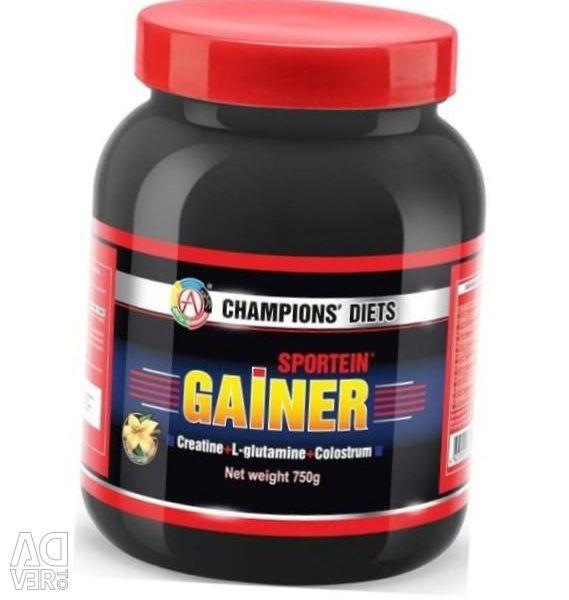 Gainer SPORTEIN® GAINER βανίλια, σοκολάτα, φράουλα