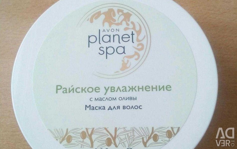 SPA Маска для волос с маслом оливы 200 мл.