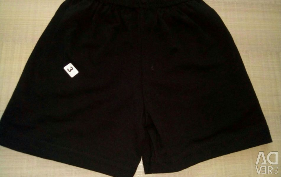 Shorts are new. The size: 116