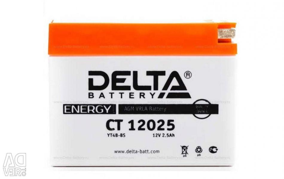 Baterie DELTA CT 12025
