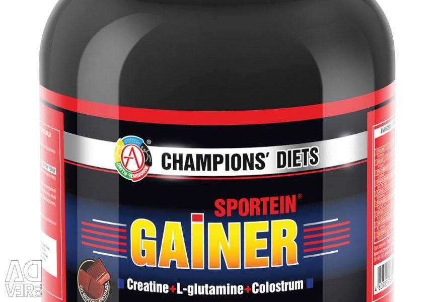 Gainer SPORTEIN® GAINER vanilla, chocolate, strawberry