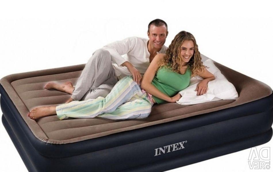 Air mattress INTEX (Original) two-sleeping