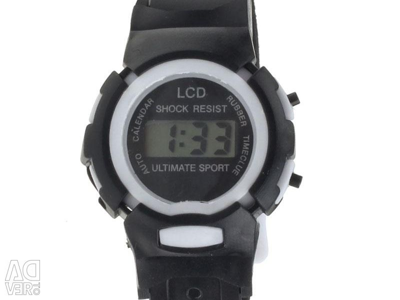 Teenage digital watch