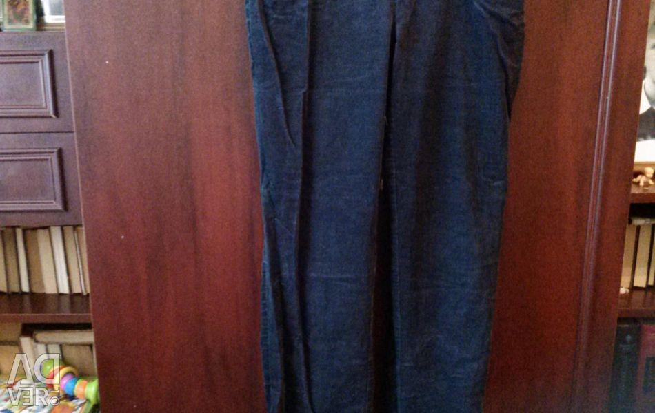Warm Corduroy Pants for Pregnant Women