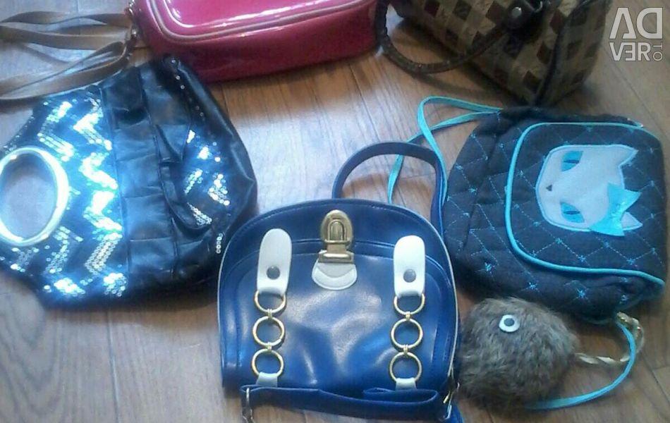Dets. handbags. From 150-250r