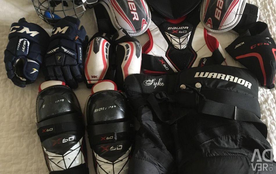 Hockey set. (~ 146-158р.)