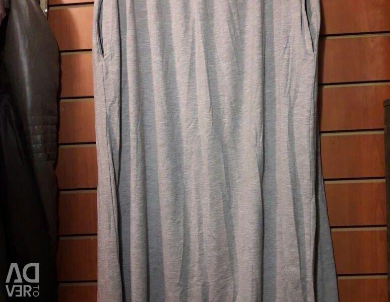 Μακρύ φούστα με τσέπες