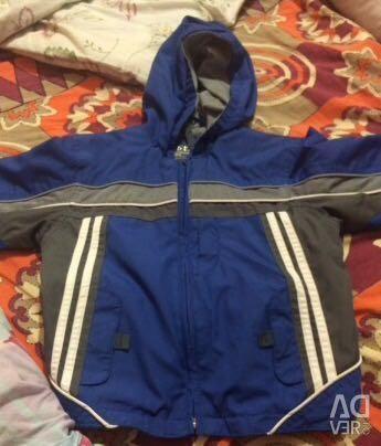 Jacket pe băiat 110-116cm
