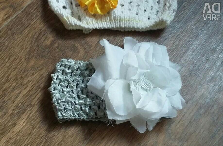 A summer hat and bandages for a girl