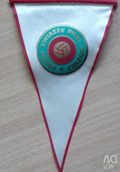 Pennant USSR Polish Football Union PZPN 390