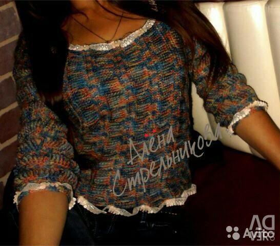 Handmade! Новий светр ручної роботи