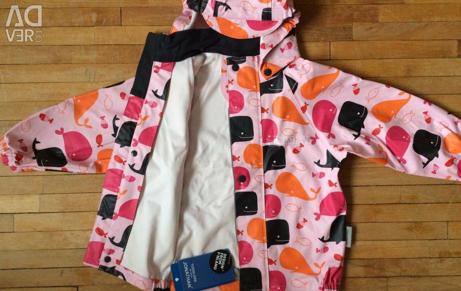 New rubberized jacket