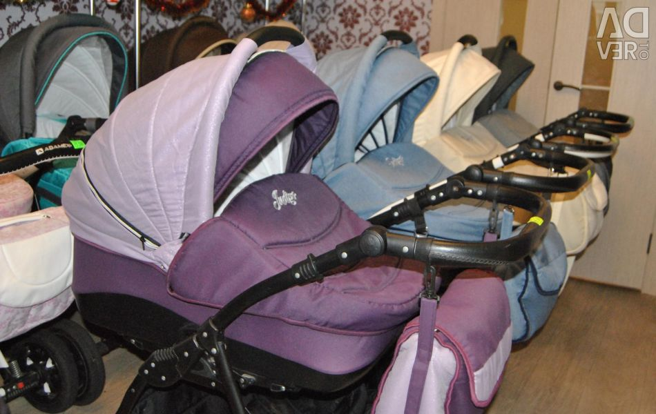 Baby strollers 2in1 and 3in1 firms Indigo