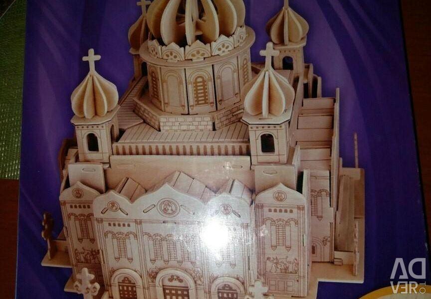 Ο καθεδρικός ναός του Χριστού Σωτήρος του Ξύλου