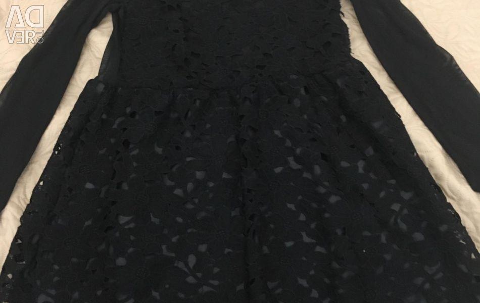 Elbise, r. XS, siyah