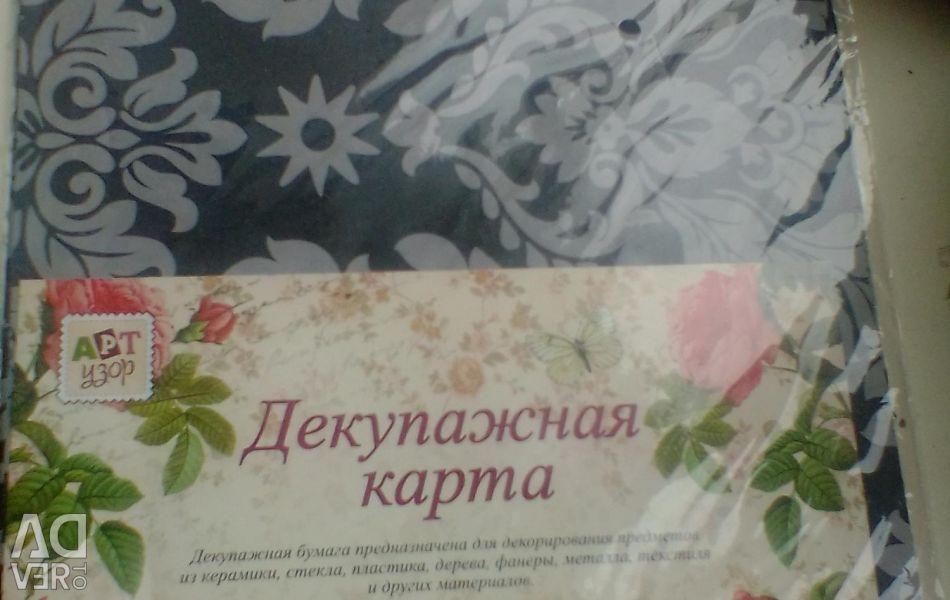 Decoupage paper, 10 sheets