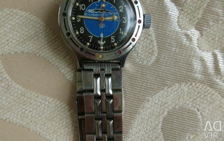 Komandirsky watches, USSR
