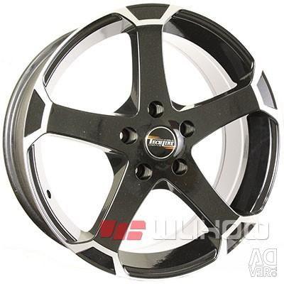 Wheels TECH Line 802 8x18 PCD 5x120.0 ET 40 DIA 74.10 BD
