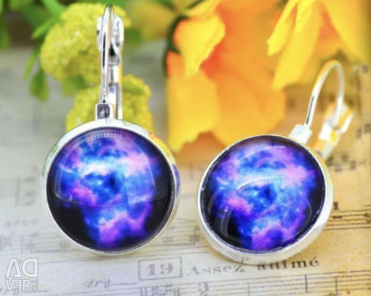 Earrings -Cosmos