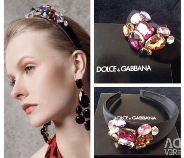 Обруч Dolce&Gabbana Оригинал
