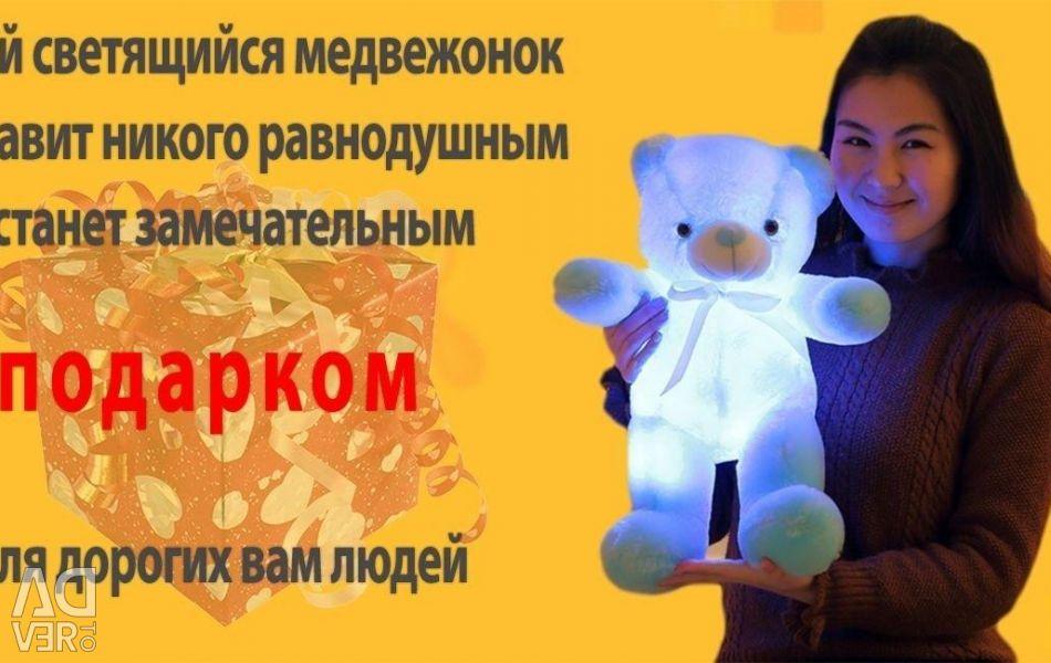 Glowing bear