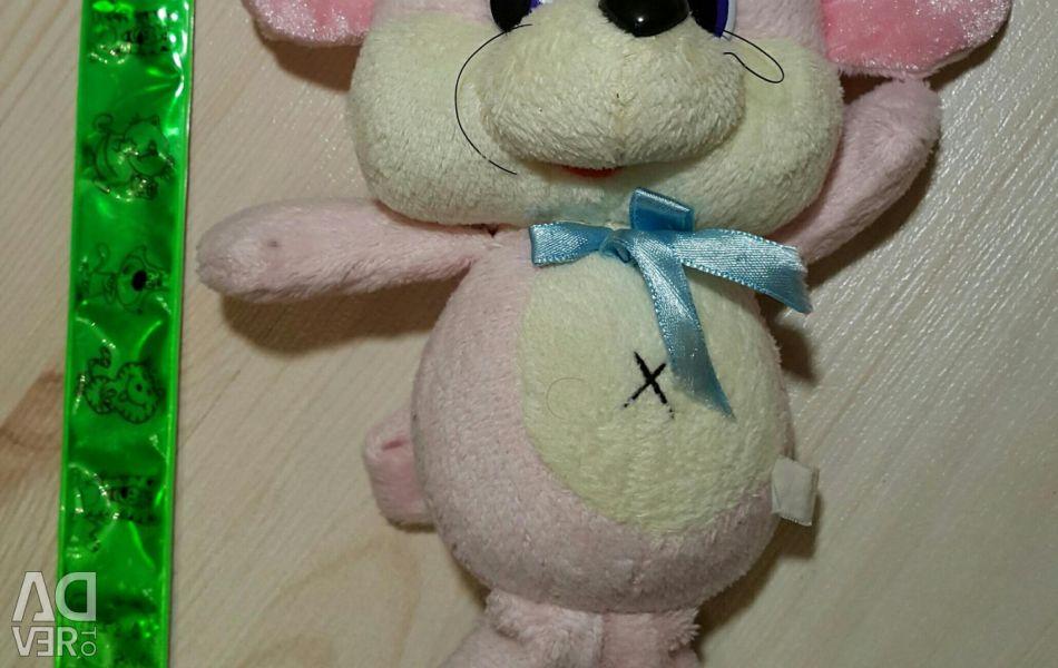 Мышка розовая