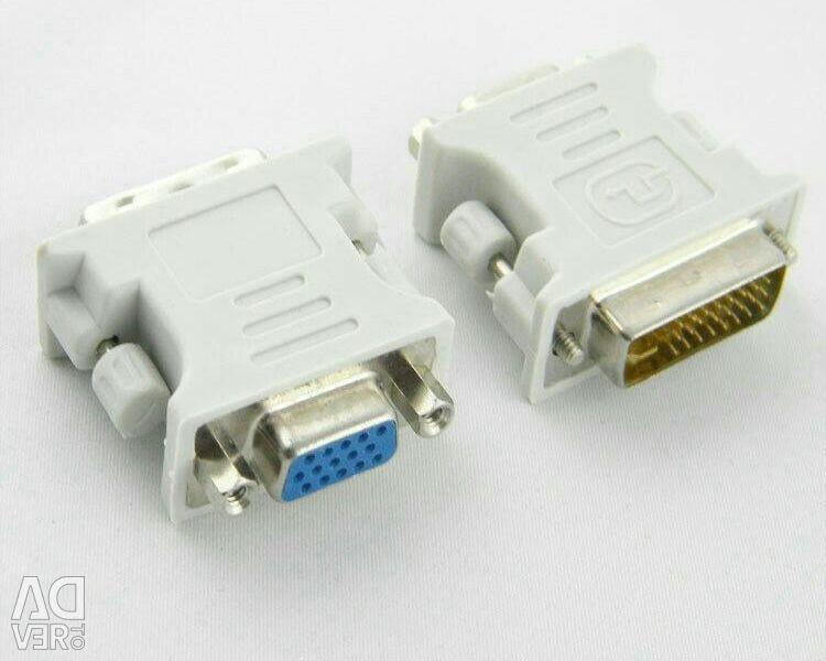 Προσαρμογέας προσαρμογέα DVI (DVI-I) - Υποδοχή VGA