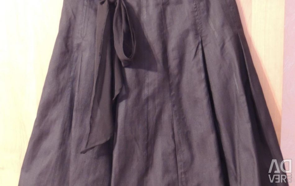 Black Oggi skirt