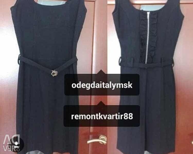 Elbise sundress yeni Eureka İtalya siyah streç p
