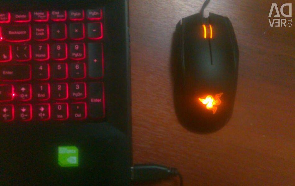 Ποντίκι παιχνιδιών Razer krait