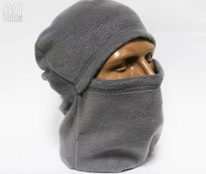 Yün (maske, yün) fleece grey