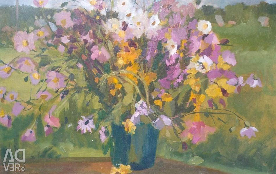 Picture Summer bouquet, 50 * 40 oil