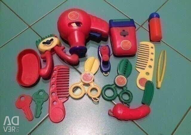 Hairdresser's set