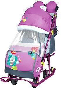 Nika Nika Sled Stroller Children 7-2 ORCHID