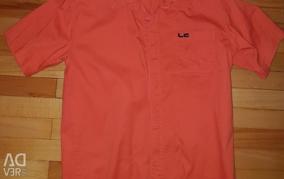 Bright shirt for height 164-170 cm