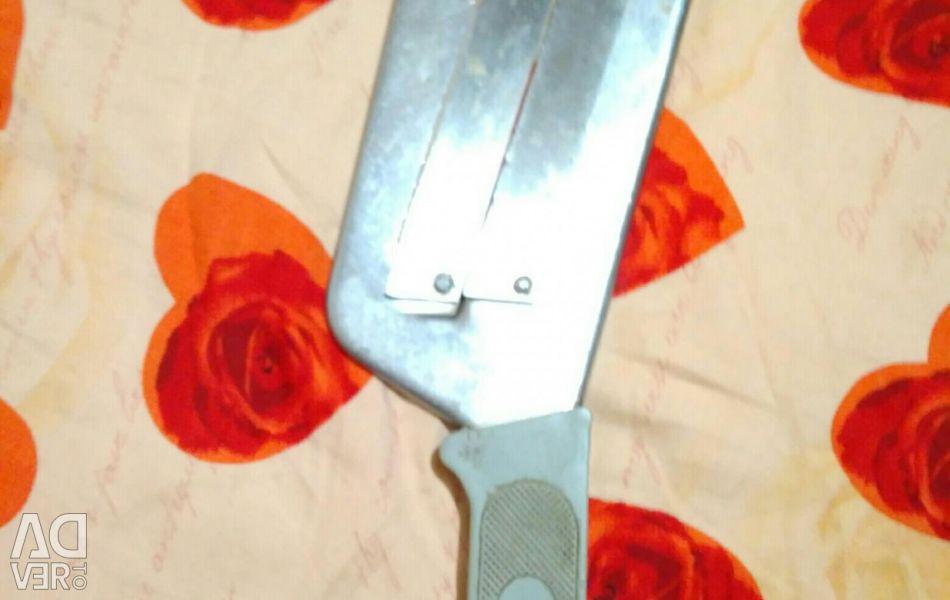 Knife shredder